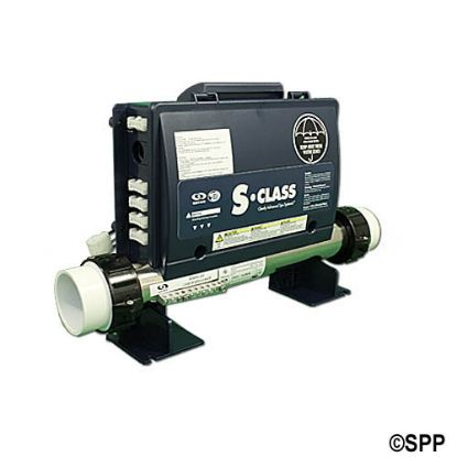 0202-205163: Control System, Gecko SSPA, 1.0/4.0kW, Pump1, Pump2 (1 Spd), Blower, AMP Receptacles, Less Cords & Spaside