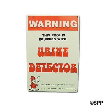 PM41350: Backyard Sign, Urine Detector