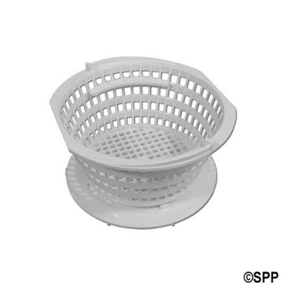 172661: Basket Assembly, Filter, Rainbow, DFM/DFML, Lily Pad w/ Restriction, White