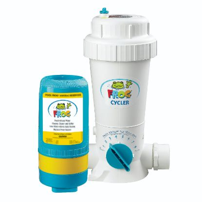 01-01-5480: Chemical Feeder, Pool Frog Series 5400, Mineral Cartridge, Up to 40,000 Gallon Pool