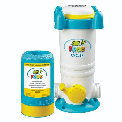 01-01-6180: Chemical Feeder, Pool Frog Series 6100, Mineral Cartridge, 7,000 to 25,000 Gallon Pool