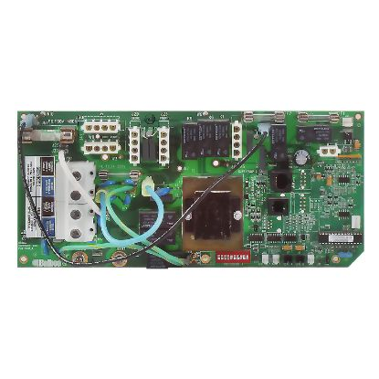 ELE09100025: Circuit Board, Cal Spa (Balboa) CS5X00, Lo-Flow (Laing Heater Only) M1, 8 Pin Phone Cable
