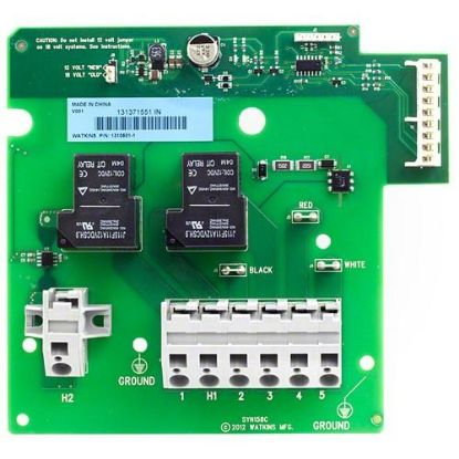 74618: Circuit Board, Hot Springs/Watkins, IQ2020 System Heater Relay Board, 2 Relays, 2001-2009