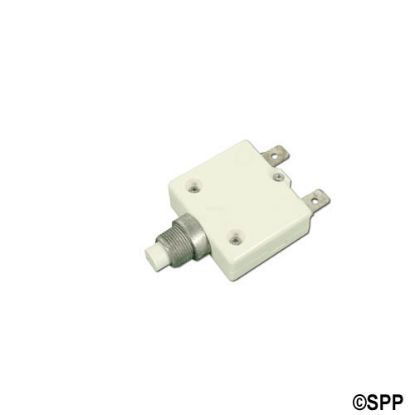 "HR1-8: Circuit Breaker, Panel Mount, 8 Amp, 7/16""Diameter"