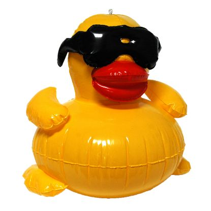 5001: Inflatable Derby Duck