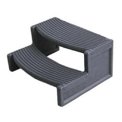 "HS2-DG: Steps, Confer, Handi-Step 2, 27""Wide, Dark Gray"