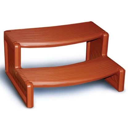 "HS2-R: Steps, Confer, Handi-Step 2, 27""Wide, Redwood"