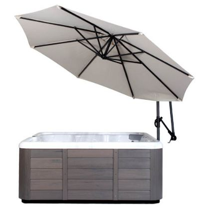 CVUMCM: Umbrella, CoverValet, Spaside w/Base, Cream