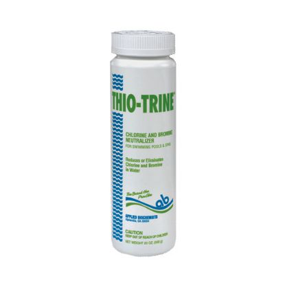 401115A: Water Care, Leisure Time, Thio Trine, Chlorine/Bromine Neutralizer, 20oz Bottle